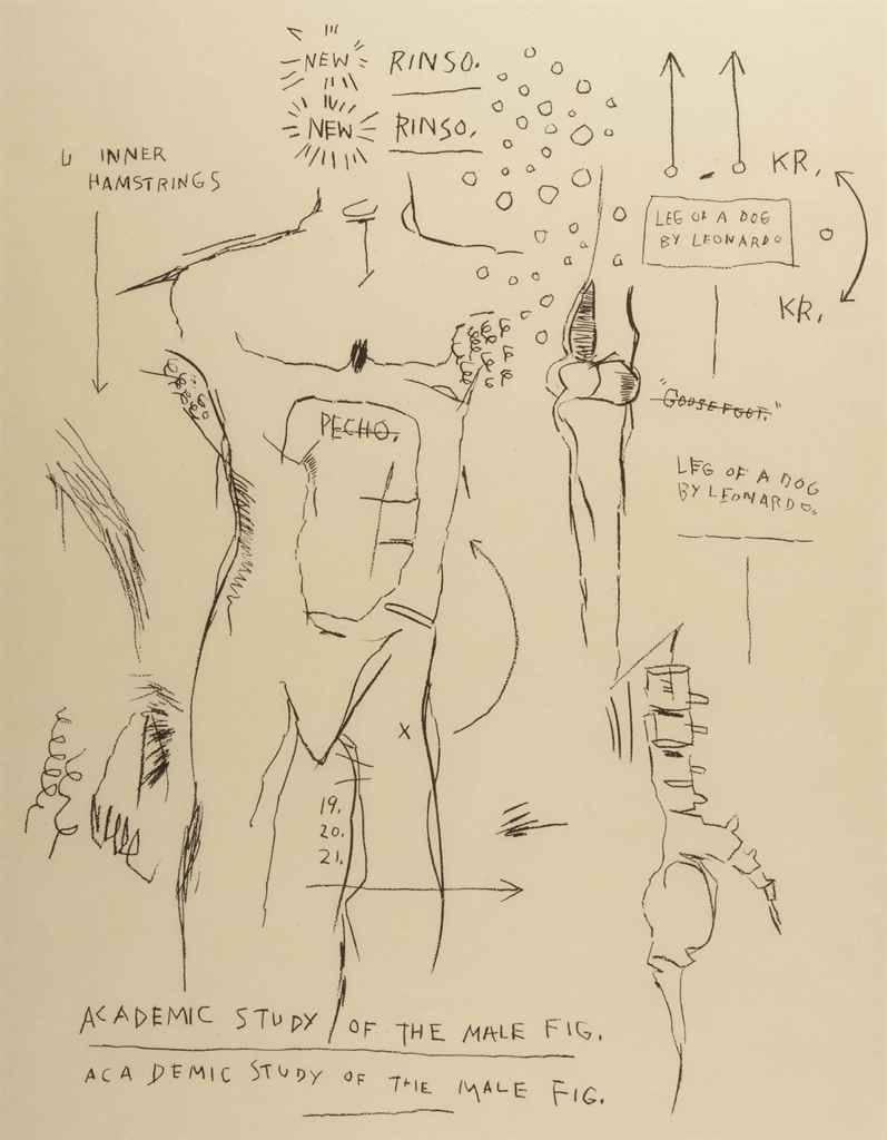 Jean Michel Basquiat Art 21 For Sale At 1stdibs How To Draw A Goose Diagram