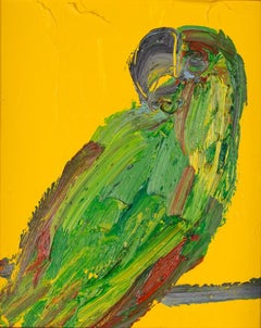 Untitled Green/Yellow Parrot