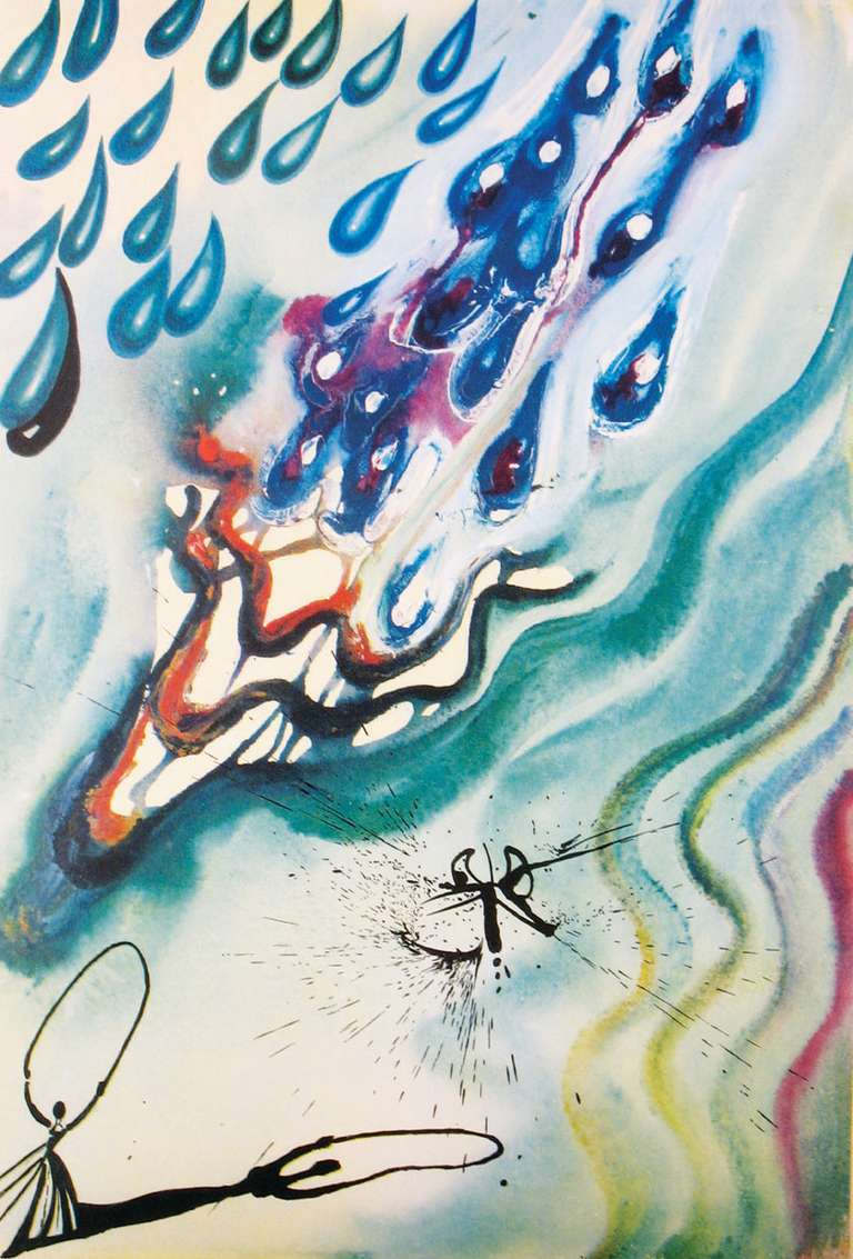 Salvador Dalí - The Pool of Tears, Print For Sale at 1stdibs