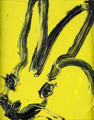Untitled (Chartreuse Bunny)