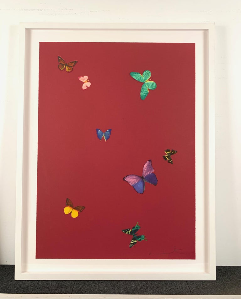 Your Smell - Contemporary Print by Damien Hirst