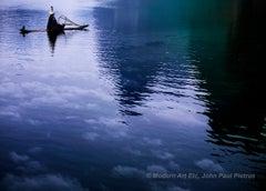 Photograph - Cloud River (high fashion, landscape) - Framed