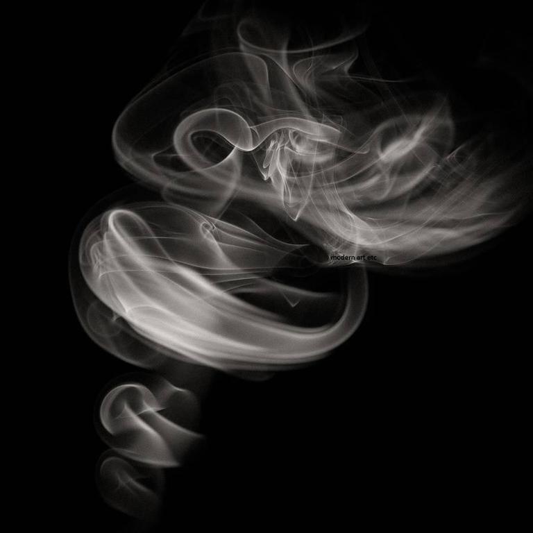Smoke - abstract photography