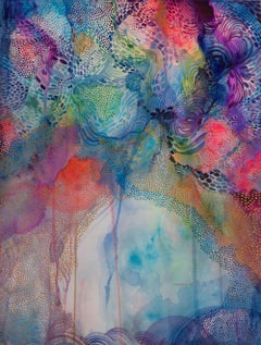 Intricate Watercolor piece - Joy and Wonderment