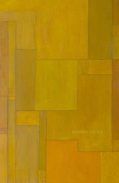 """Abstract expressionist painting - large oil painting - """"Courage"""" - architectural"""