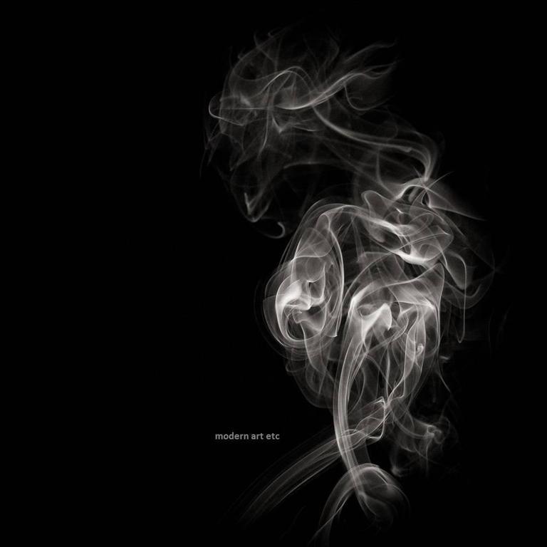 Matador Smoke abstract photography - black and white series