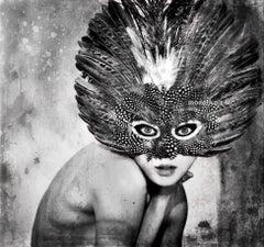 "Beautiful Portraiture award winning art photography - female nudes ""The Owl"""