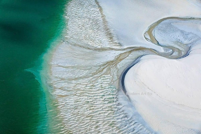 Aerial Photography of Earth, Land, Sea - abstract Land Art of Earth
