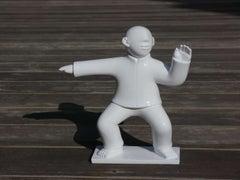 Sculpture - Tai Ji (Tai Chi) Series - Small Fibre Glass Sculptures