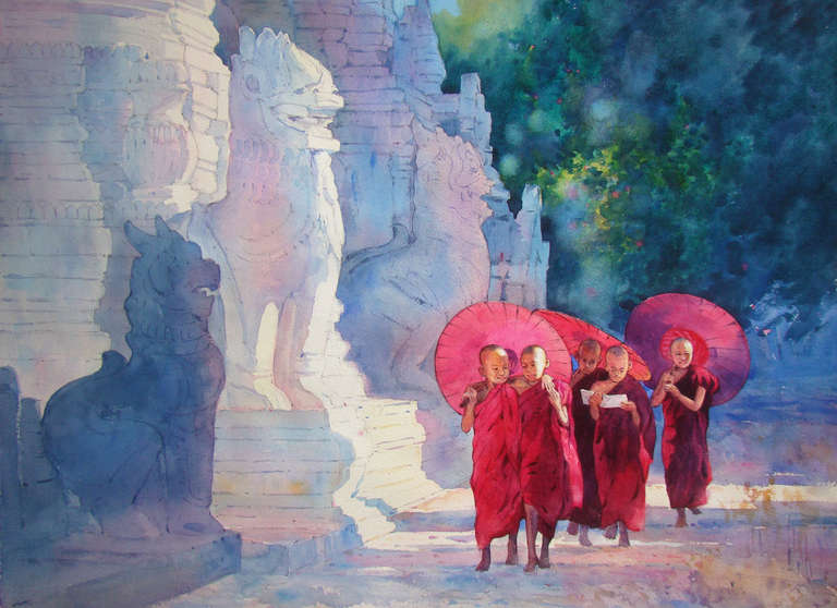 Myanmar Painting Pictures