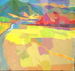Oil on Canvas -  #1155   California landscape painting