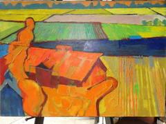 Oil on Canvas - California Landscapes #1162 Monterey California