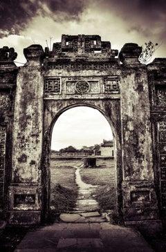 "Timeless East series - ""Vietnam 14""   sepia, black and white art photo"