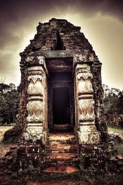 Timeless East series - Vietnam 15 (Sepia, black and white art photo)