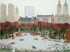 Limited Edition Print / Etching -  Central Park West, New York City