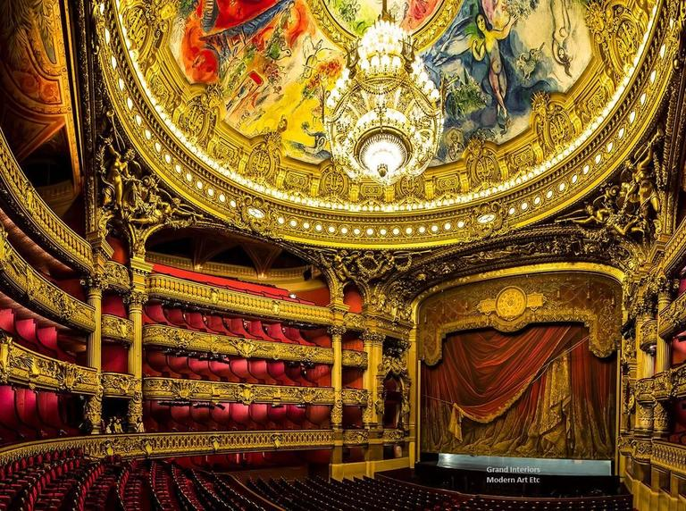 MAE Curates Landscape Photograph   Architectural Interiors  Grand Opera  Houses Of Europe   Large Photography