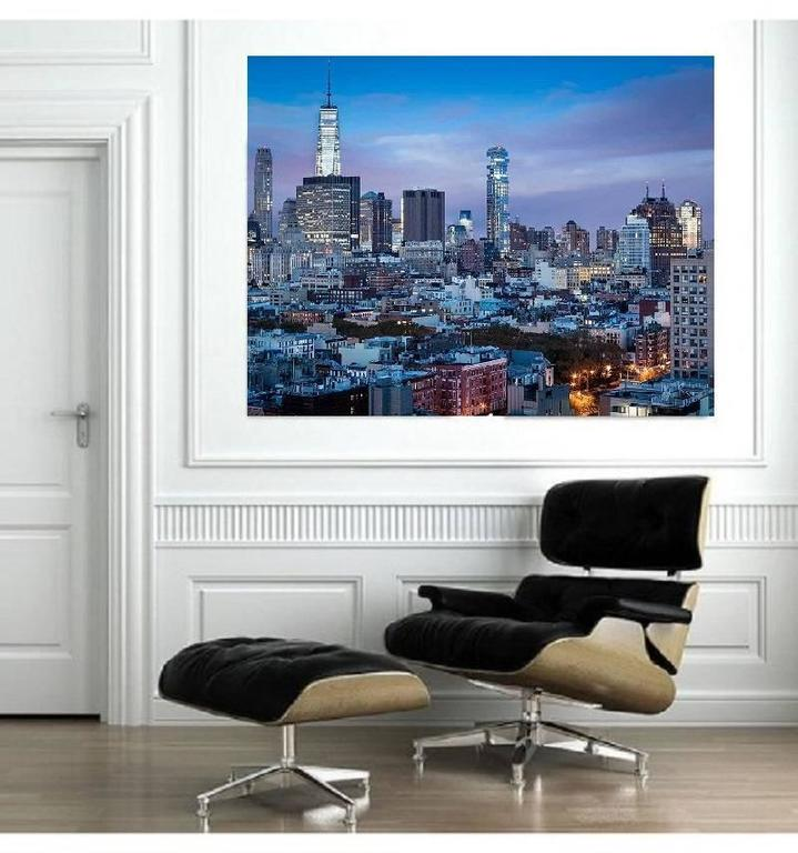 Large New York City photography, cityscape - New York, New York series n6 - Gray Landscape Photograph by MAE Curates