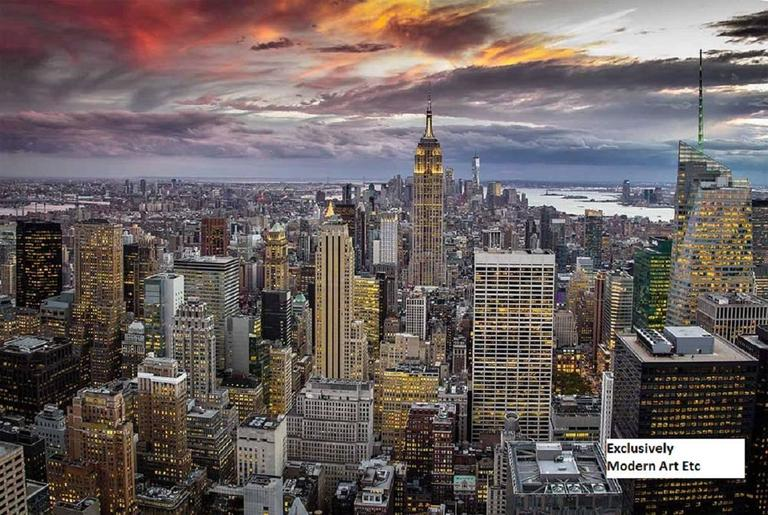 MAE Curates Landscape Photograph - Large New York City photography, cityscape - New York, New York series n6