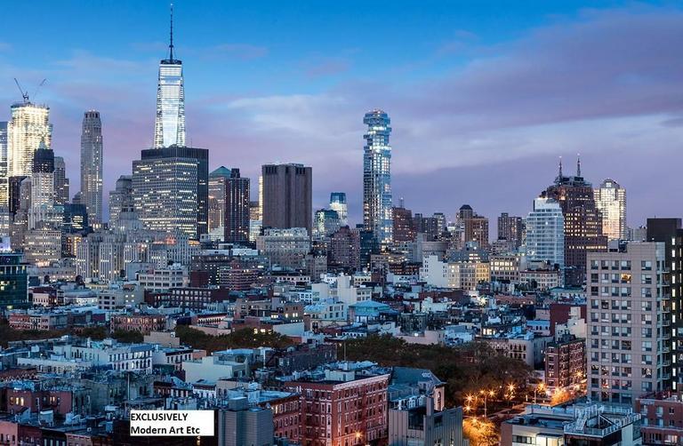 "Large New York photography, cityscape - ""New York, New York"" n.8"