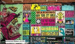 """New York, New York"" series - n6 Graffiti, Attitude ( NYC Girls Will Kill You)"