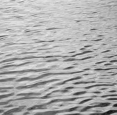 Large black and white photo of Water, Ocean - silver gelatin print n. 1