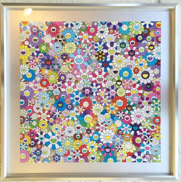 Murakami - And Then Vermillion - complimentary framing in LA or in original box - Print by Takashi Murakami