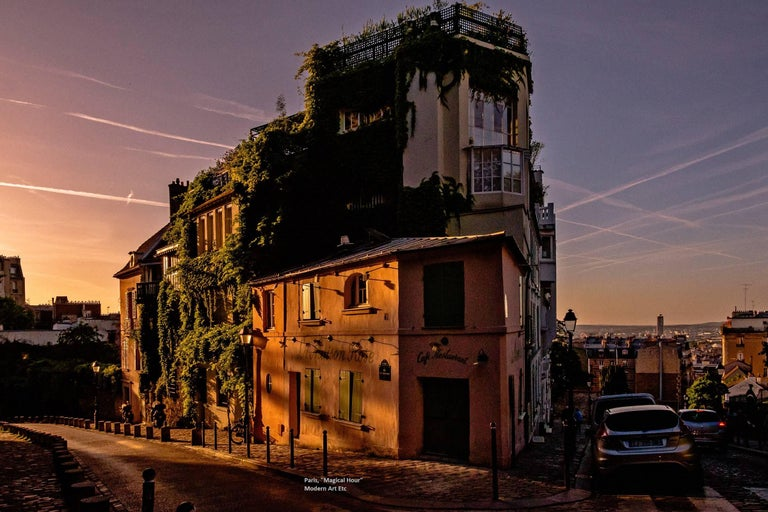 """Paris Photography  """"Magical Hour"""" -  City and Architectural series - large print"""