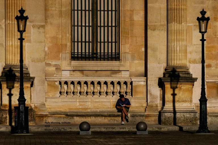 """Paris Photography  """"Solitude"""" -  City and Architectural series - large print"""