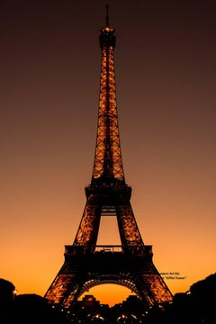 "Paris Photography  ""Eiffel Tower I"" -  City, Architectural series - large print"