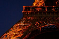"Paris Photography  ""Eiffel Tower II"" -  City, Architectural series - large print"