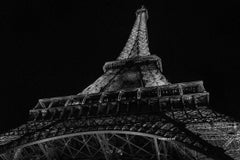 "Paris Photography  ""Eiffel Tower III"" -  City, Architectural series- large print"