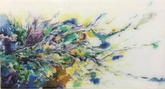 """""""Study of Flower"""" series -  Abstract painting"""