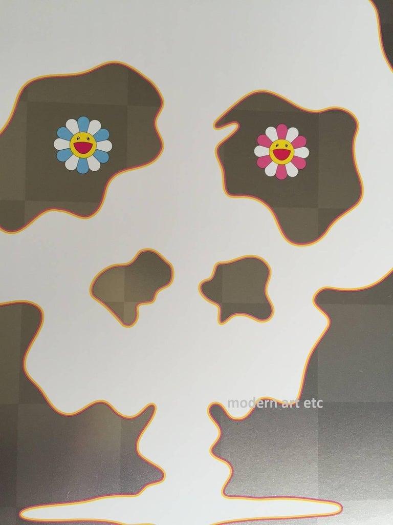 Murakami offset print - Dokuro Silver - only 1 left, free custom framing - Contemporary Print by Takashi Murakami