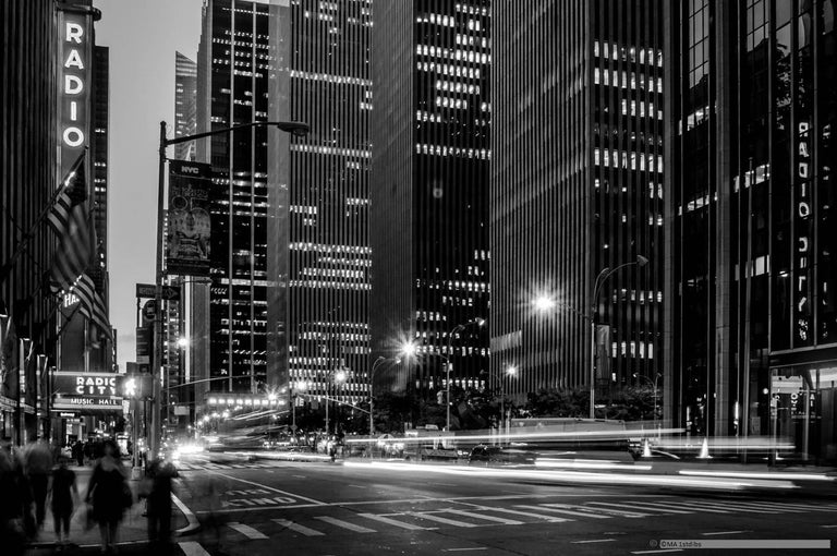 Photography - New York City landscape art photography black and white