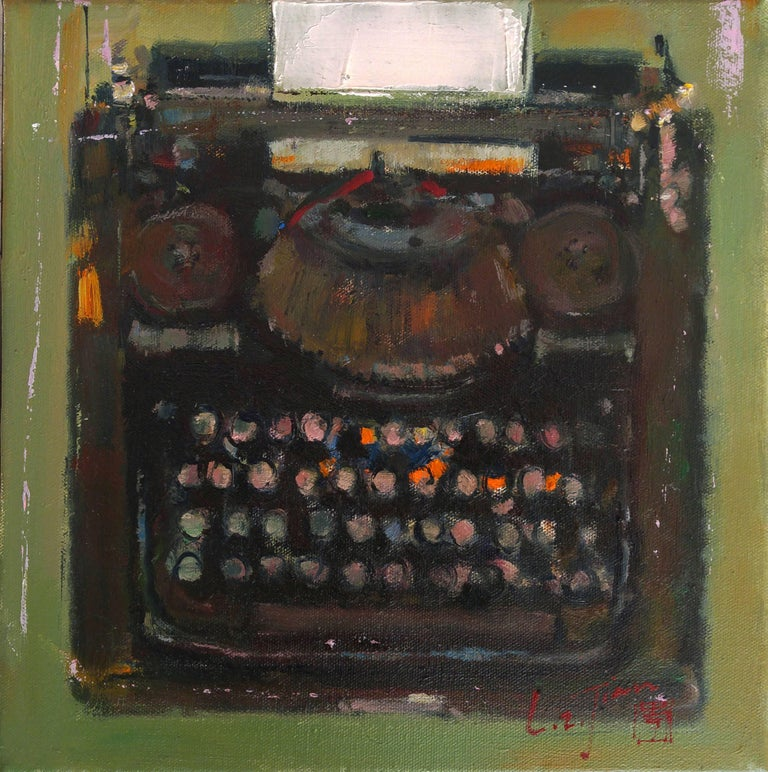 MAE Curates Figurative Painting - The art of nostalgia series #2 Sewing Machine