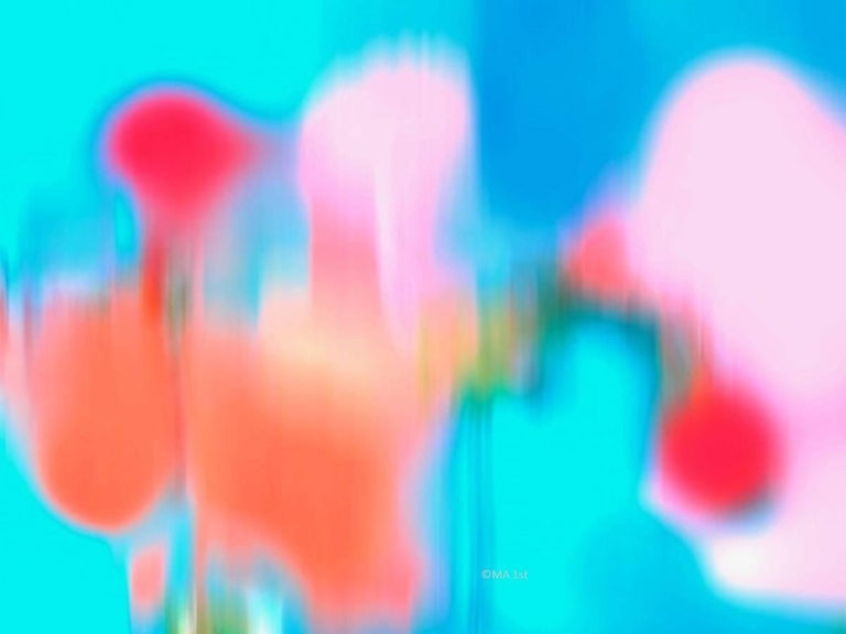 Abstract Expressionist art photography - M n. 1 - unframed print