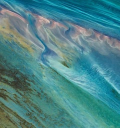Aerial Photography of Earth, Land, Sea - abstract Land Art of Earth F 011