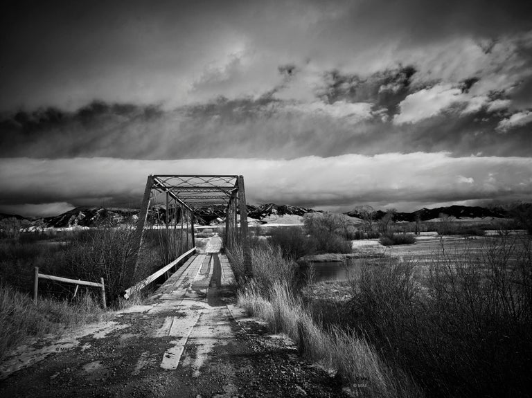 "Black and White Photography of American landscape series ""Yellowstone"" n.1"
