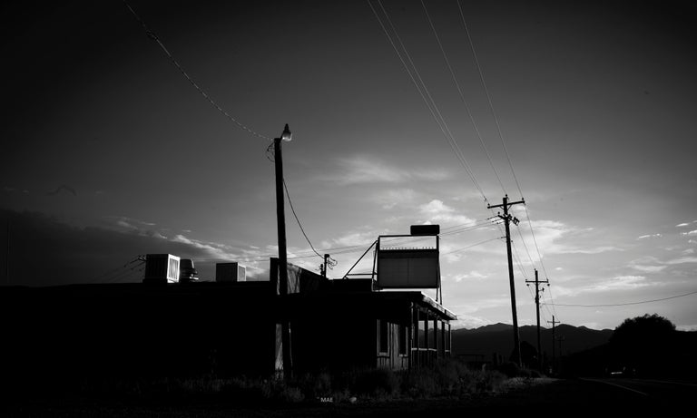 """Black and White Photography of American landscape series - """"Salt Lake City"""" n.2"""