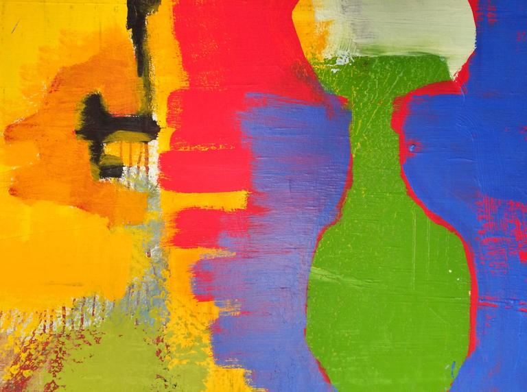 Large Oil Painting - Okinawa (Abstract Expressionist) For Sale 1