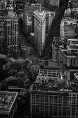 Alejandro Cerutti - Photograph - Flatiron, New York City - Architectural, landscape