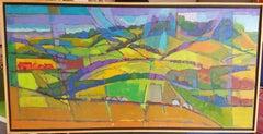 Oil Painting - English landscape - River Thames series, UK