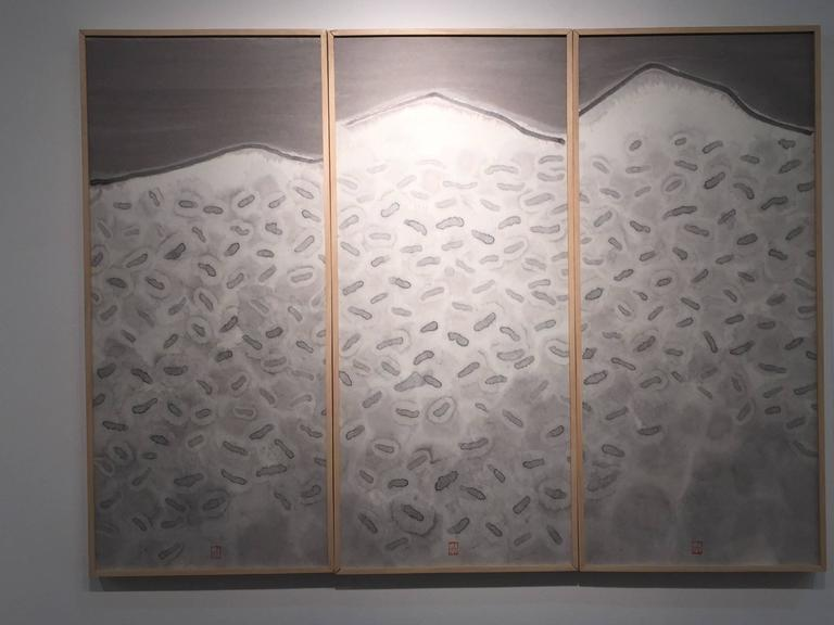 6e1c83aec MAE Curates - Ink on rice paper - Mountain and Water (contemporary ...