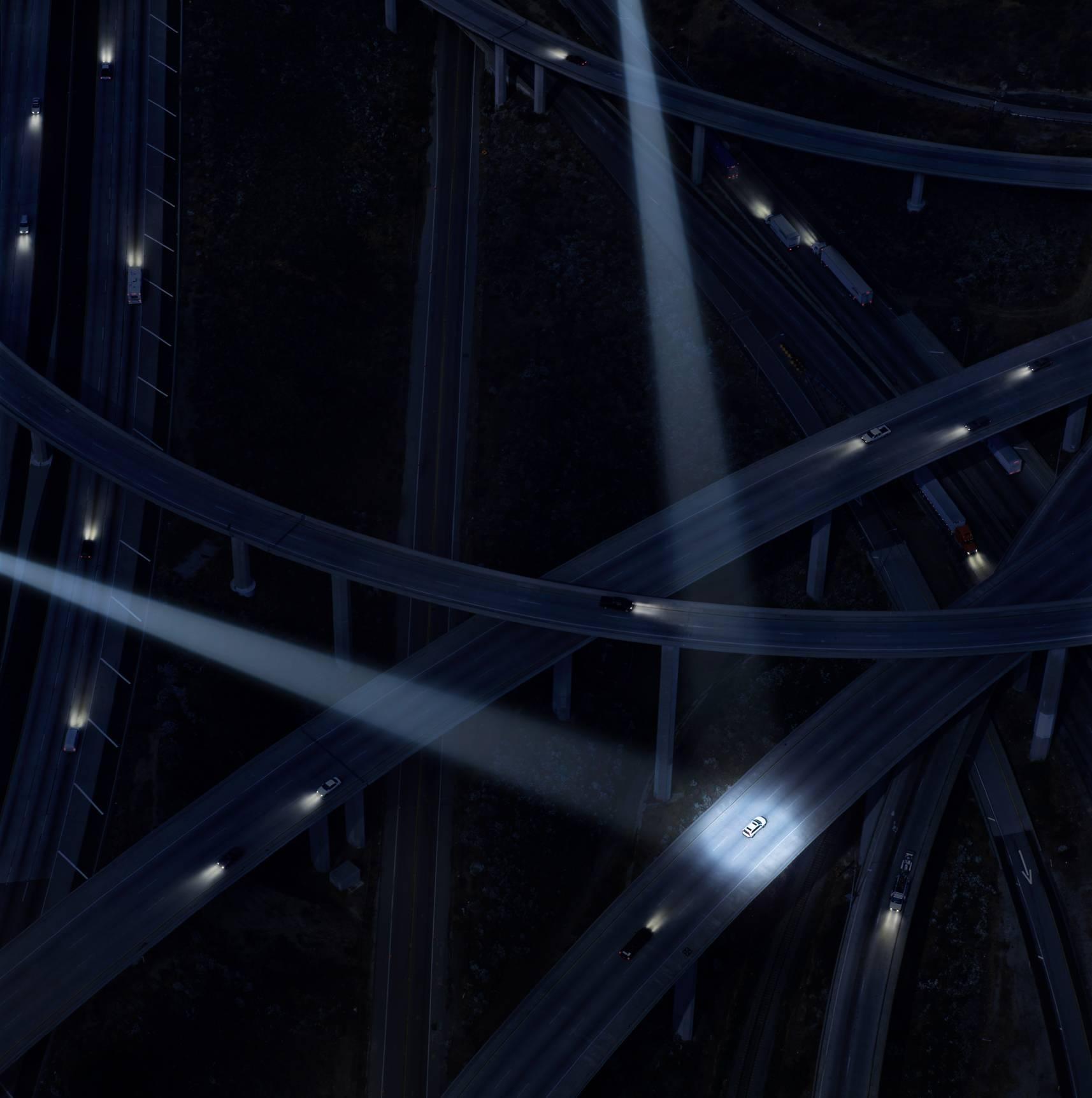 """Autobahn ( 30 x 30"""" / 76 x 76cm )"""
