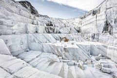 Marmo di Carrara - large format photograph of iconic Italian marble quarry
