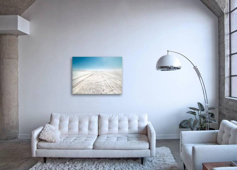 El Mirage - large format photograph of bright California desert landscape - Contemporary Photograph by Frank Schott