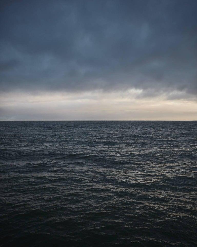 """Frank Schott Landscape Photograph - Seascape IV ( 72.5 x 58"""" / 184 x 147cm )"""