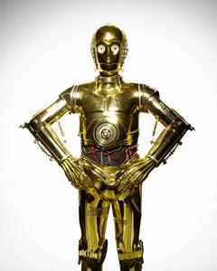 "Star Wars ( C-3PO ) 40 x 32"""