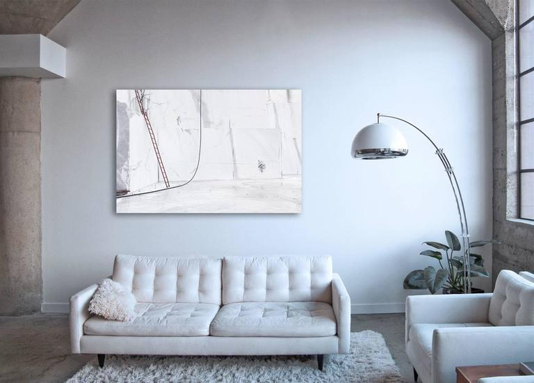 Carrara I - large format photograph of iconic Italian marble quarry - Contemporary Photograph by Frank Schott