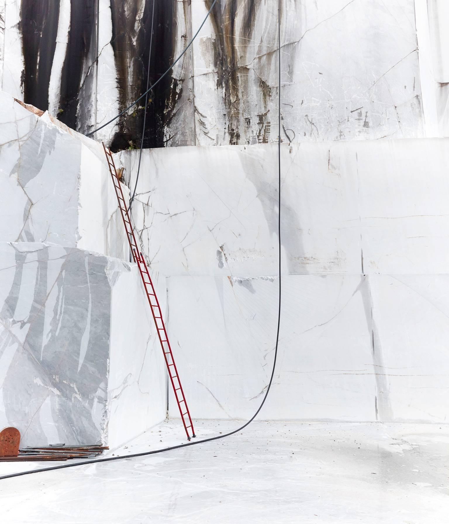 Carrara II - large format photograph of iconic Italian marble quarry